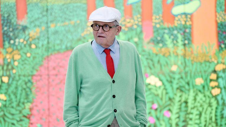 Het wordt dringen geblazen in Het Van Gogh dit weekend. Waarom? Hockney is te zien! Beeld ANP