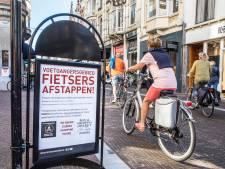 'Dwingende borden geplaatst, maar fietsen op Noordeinde mag gewoon'
