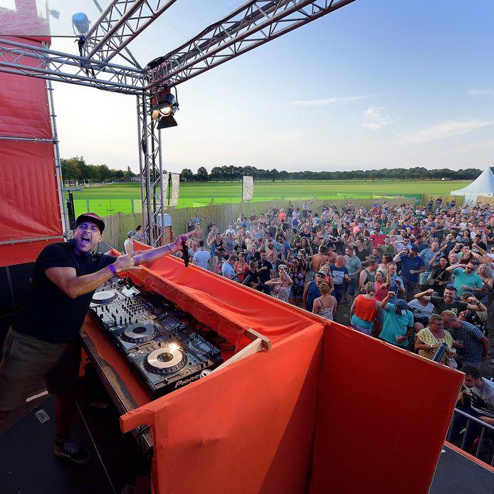 Mental Theo tijdens de laatste editie van het festival, de zomer van 2018.