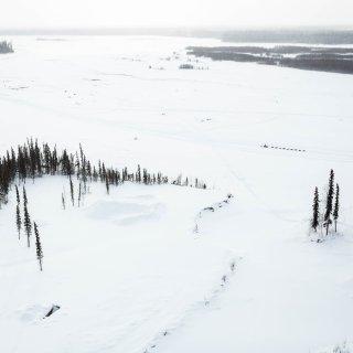 Rivieren Alaska in ruim honderd jaar nog nooit zo vroeg ontdooid