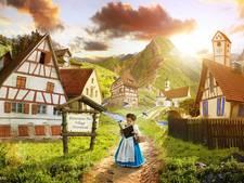 Driejarige Nellee schittert in haar eigen Belle en het Beest