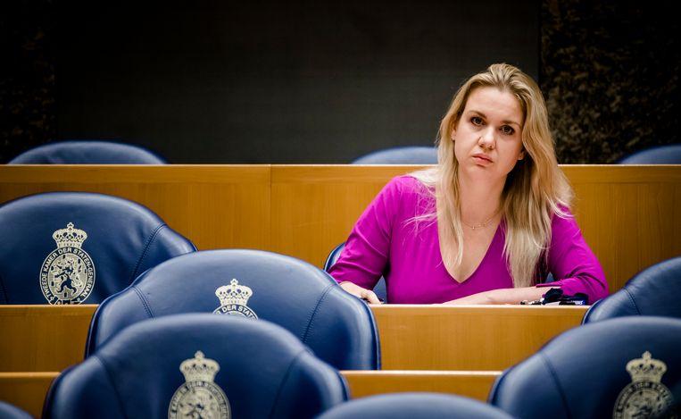 Onafhankelijk Kamerlid Femke Merel van Kooten. Beeld ANP