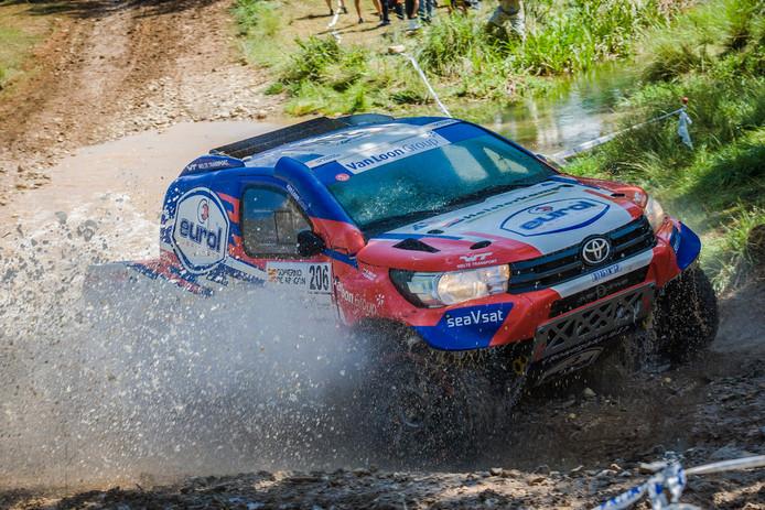 Erik van Loon en Wouter Rosegaar eindigden op de zesde plek.