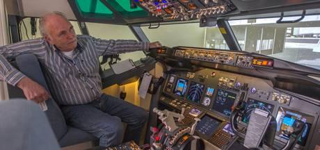 Martin kan vanuit zijn zolder van Schiphol naar Eindhoven 'vliegen'