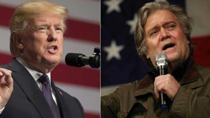Trump wil publicatie van omstreden boek over Witte Huis verhinderen