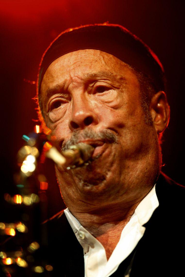 Johnny Griffin live op North Sea Jazz 2007. Foto ANP/Robert Vos Beeld