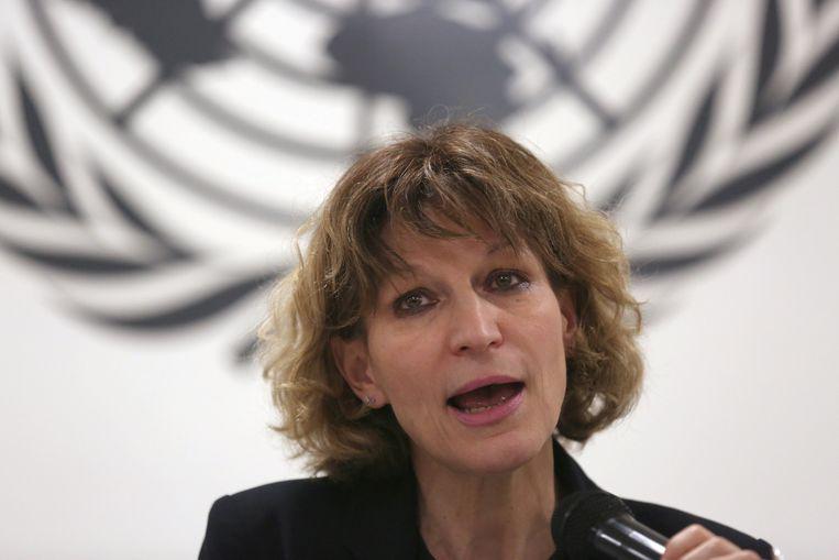 Agnes Callamard, de speciale VN-rapporteur.