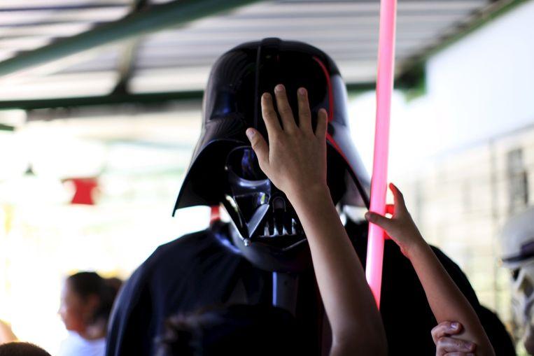 Het masker van Darth Vader uit Star Wars. Beeld reuters