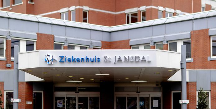 Het St  Jansdal Ziekenhuis in Lelystad, het voormalige MC Zuiderzee.