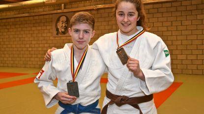 Goud en zilver voor JudoClub Ardooie op BK