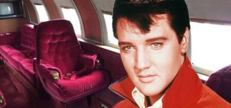 Roestige privéjet van Elvis Presley staat opnieuw te koop