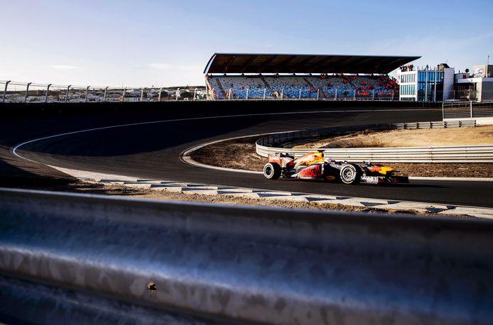 Max Verstappen op het circuit van Zandvoort eerder deze maand.