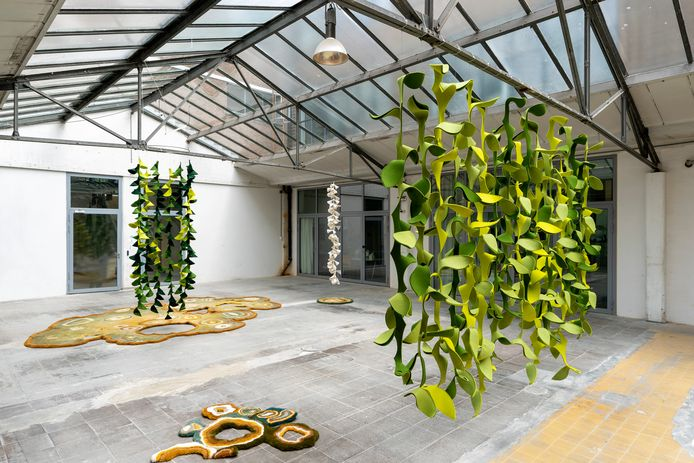 Wolviltobject van Marjan Veltkamp in De Gruyterfabriek Den Bosch. Foto Marc Bolsius