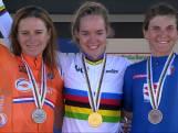 Van der Breggen flikt het: dubbel goud op WK wielrennen