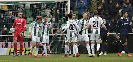 'FC Groningen mikt nog altijd op play-offs voor Europa League'