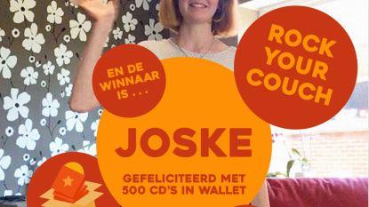 Joske (13) wint Rock Your Couch, krijgt 500 cd's en verkoopt ze voor het goede doel