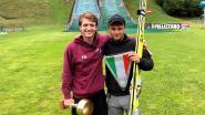 Gentse student zonder ervaring breekt Belgisch record schansspringen