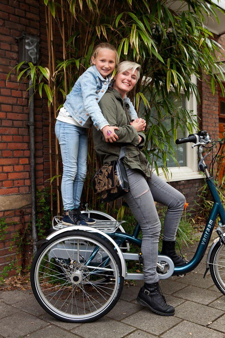Daantje met dochter Izzie Beeld Mark van der Zouw