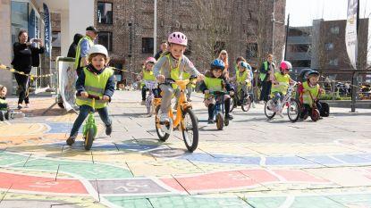 VIDEO. Kleuters reden vandaag al hun Ronde van Vlaanderen in Oudenaarde
