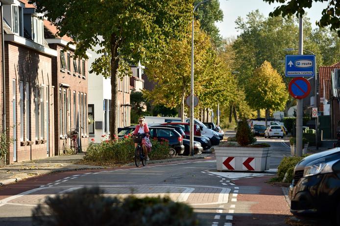 De Lange Burchwal is wat het parkeren betreft een van de drukste straten in Oudewater.
