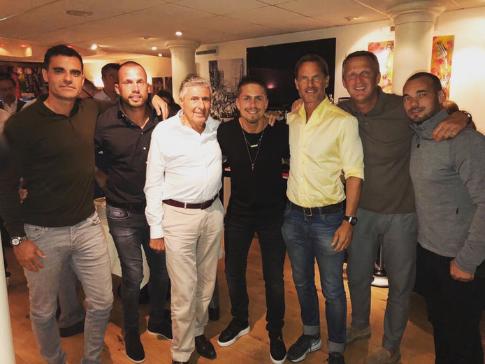 Sjaak Swart was in goed gezelschap bij Ajax - Dinamo Kiev.