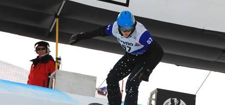 Geen Spelen voor snowboarder De Blois