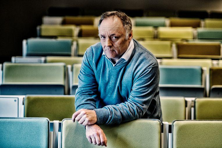 Viroloog Marc Van Ranst (KU Leuven).  Beeld Tim Dirven