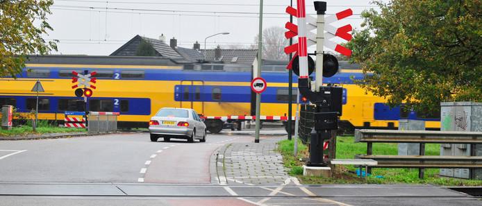 Een fietstunnel onder het dubbele spoor in Boxtel, het gaat er al jaren over.