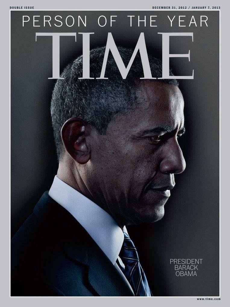 Cover van Time magazine van 31 december. Beeld afp