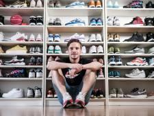 OBW-speler Ian de Meijer wil naast sneakers ook prijzen in de kast