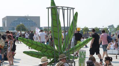 Duizenden komen in Berlijn op straat voor legalisering cannabis