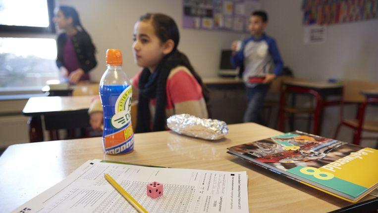 De Citotoest afgelopen februari op een school in Den Haag. Beeld anp