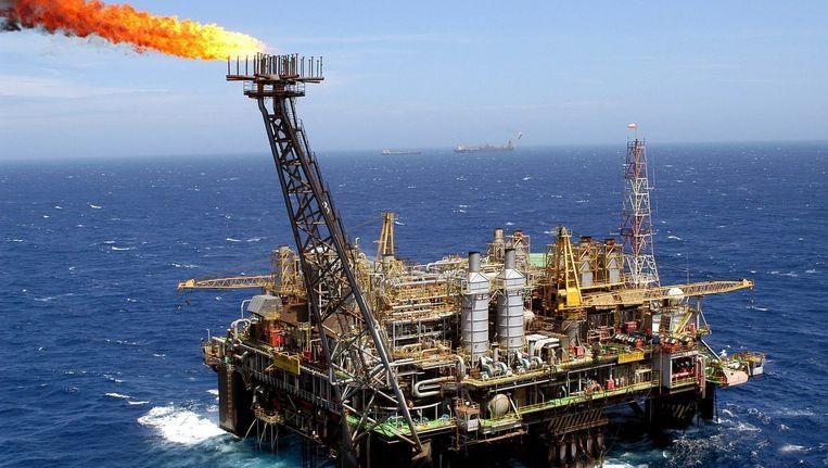 Een olieboorplatform Beeld anp