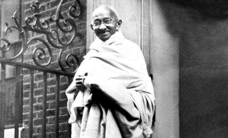 Mahatma Gandhi in 1931. Beeld HH
