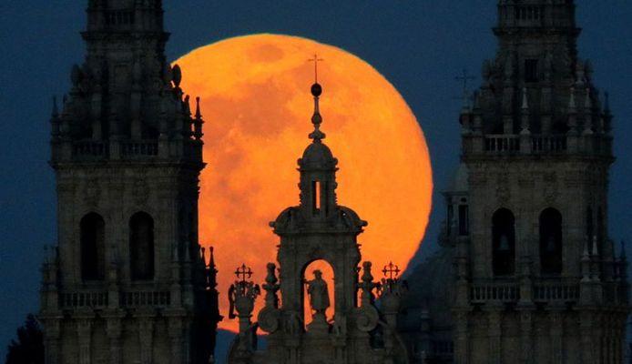 Santiago de Compostela, Spanje.