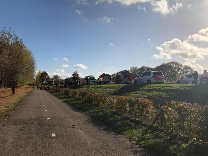 Ernstig ongeluk op de N279 tussen Beek en Donk en Veghel.