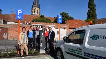 Laadpaal op parking Zwelthoek