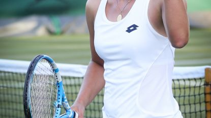 Mertens walst over Amerikaanse Vickery op Wimbledon: Limburgse in twee korte sets richting derde ronde