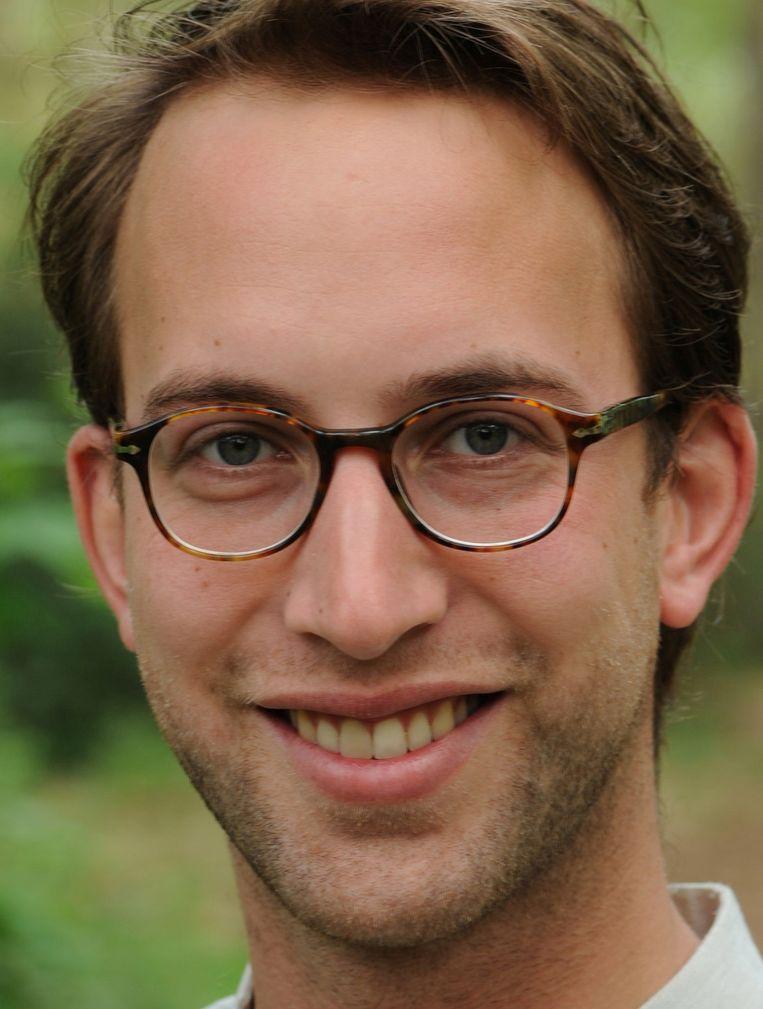 Sjors Overman, als onderzoeker verbonden aan de Universiteit Utrecht Beeld