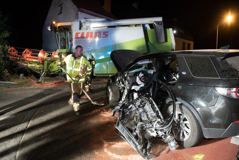 Er viel één zwaargewonde door het ongeval op de Edelareberg.