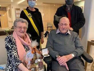 Huwelijksbootje Cyriel en Godelieve vaart 65 jaar