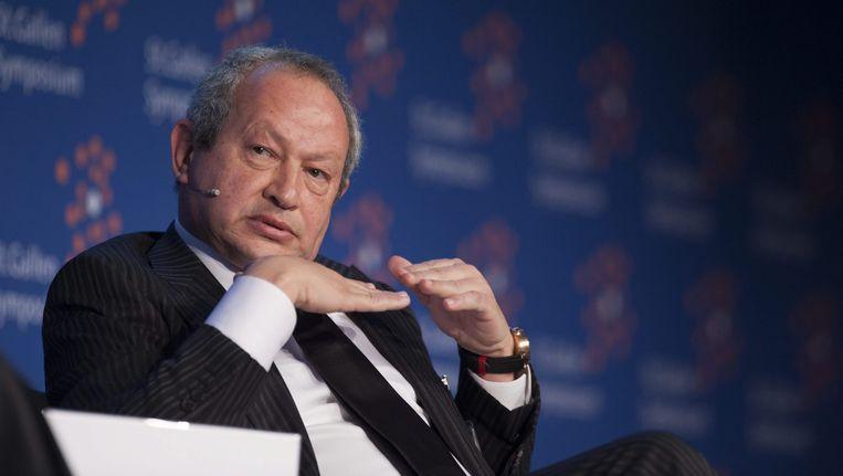 De Egyptische multimiljonair Naguib Sawiris wil een eiland kopen om vluchtelingen op te vangen. Beeld epa