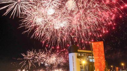 Record sneuvelt: vuurwerk bekoort 97.000 mensen