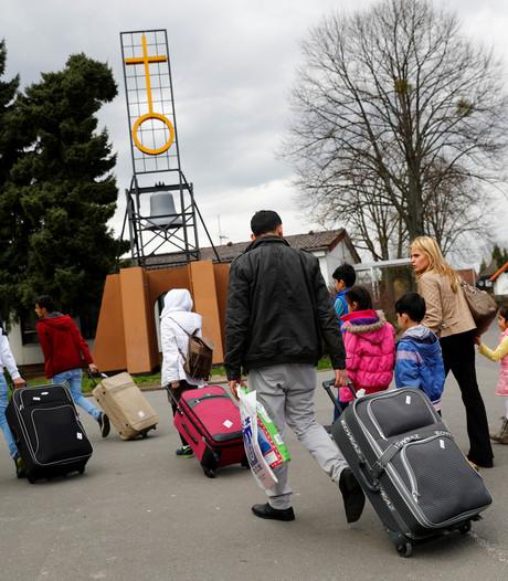 Duitse vluchtelingen vaak doelwit van geweld