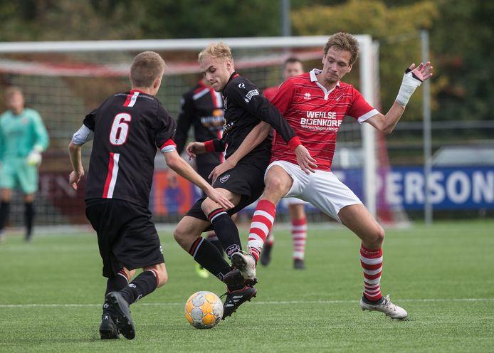 Viod speelt in Doetinchem de derby tegen Concordia Wehl.