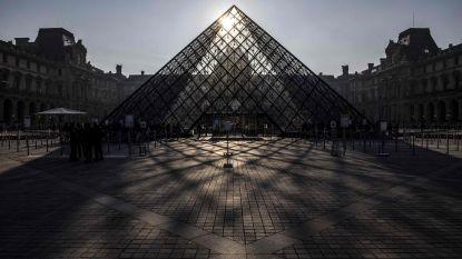 Louvre onverwacht dicht door staking
