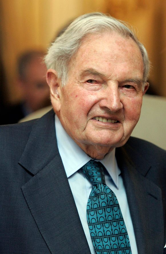 David Rockefeller in 2007.