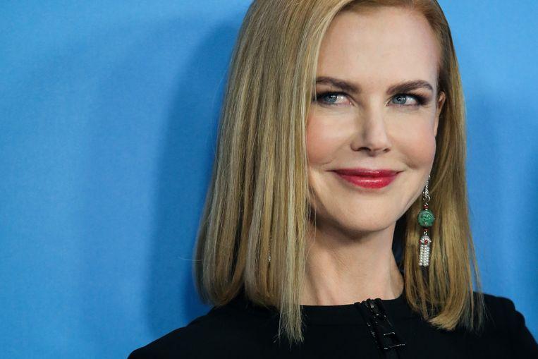 Nicole Kidman was een van de grote namen in de filmwereld die de diamantcreaties van Eurostar droegen.