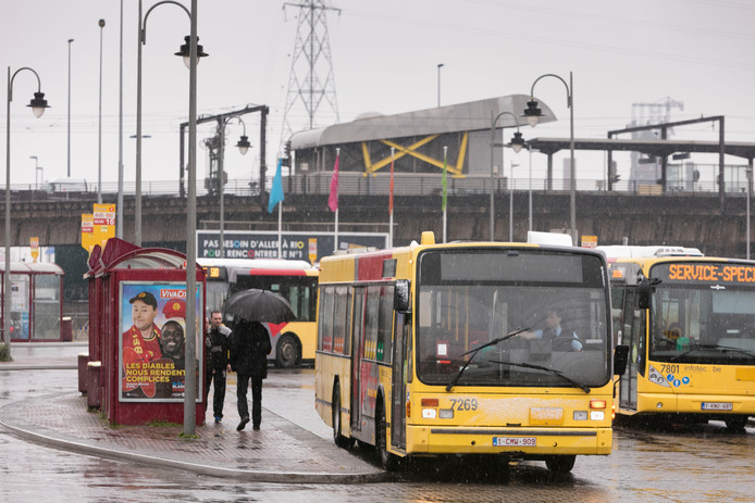 Les bus du TEC Charleroi