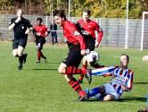 Oostburg laat in doelpuntrijk duel dure punten liggen met oog op titel